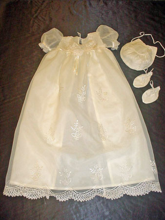 Girl's Binyag Gown
