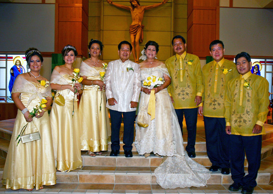 Traditional filipino wedding dress? - Yahoo! Answers
